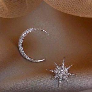 Skyline Moon + Star Earrings